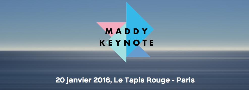 Tous à la Maddy Keynote : le sommet de l'innovation par Maddyness
