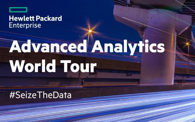 Retour sur l'étape parisienne du HPE Advanced Analytics Tour !