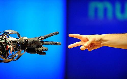 hommes robots