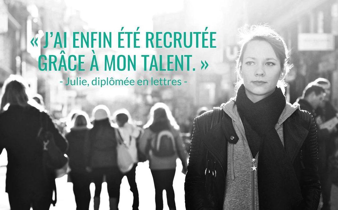 [La frappée du mois] Emilie Tortora mise sur le recrutement par les compétences avec Coxibiz