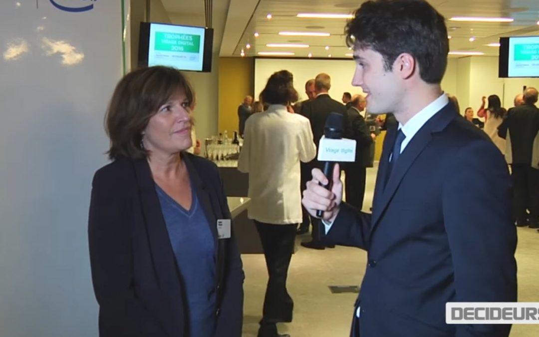Trophées Virage Digital 2016 – Nadine Pichelot, Directrice Financière Europe d'Anaplan