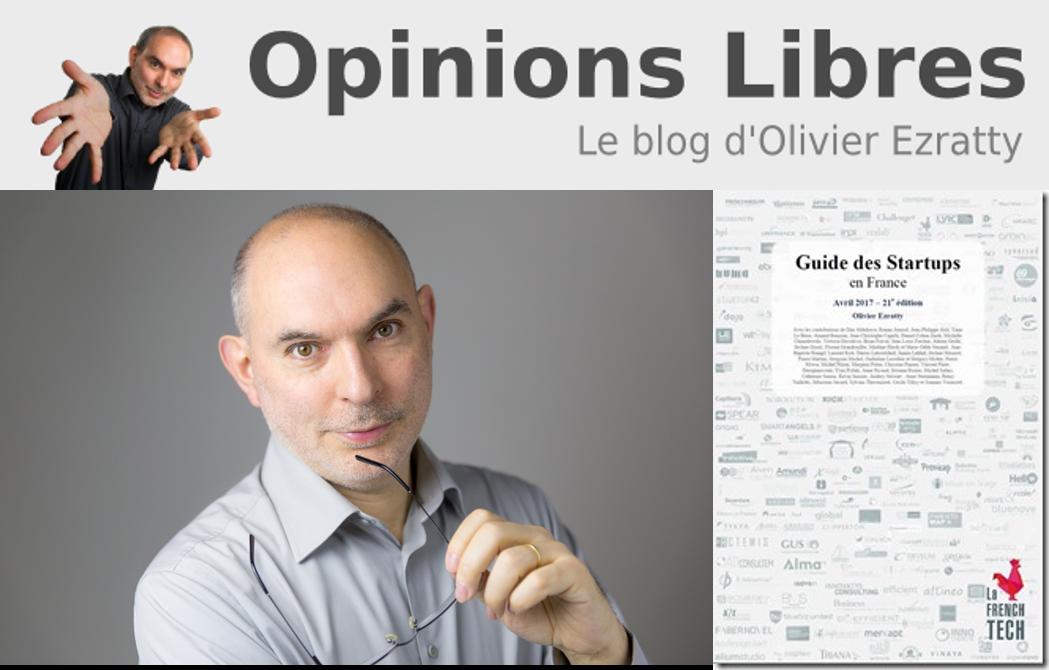 [Frappé du mois] Olivier Ezratty, auteur du Guide des Startups