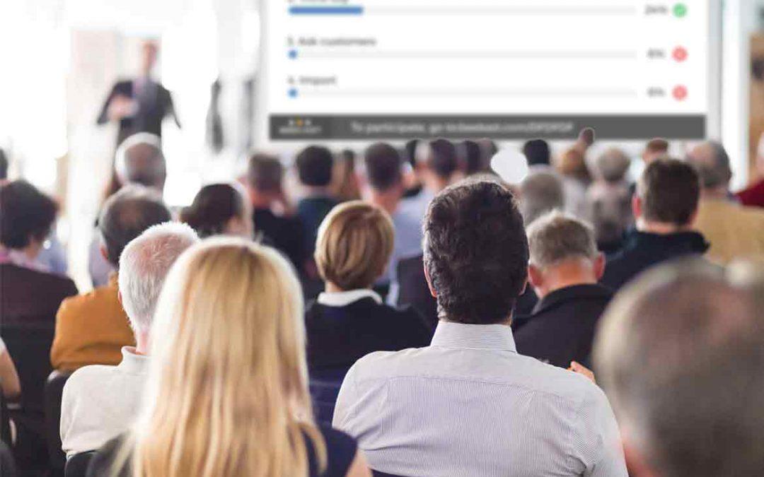 1 bonne raison de digitaliser vos événements  (la seule et unique bonne raison)