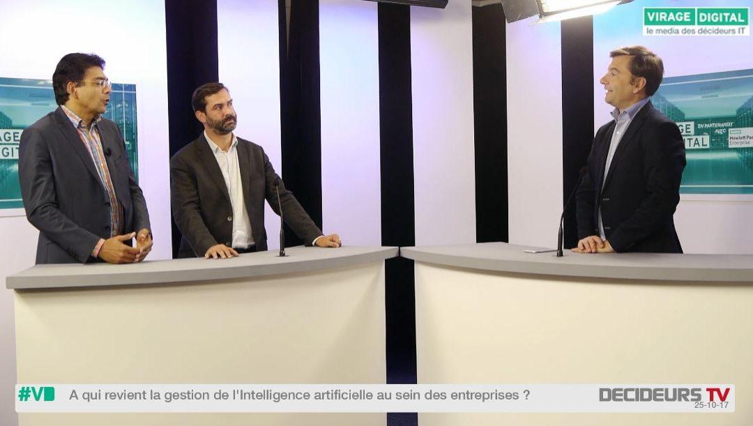 [Virage Digital] A qui revient la gestion de l'intelligence artificielle dans les entreprises ?