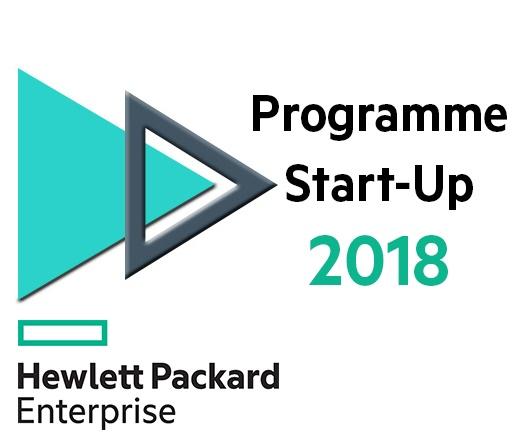 Logo HPE startup 2018