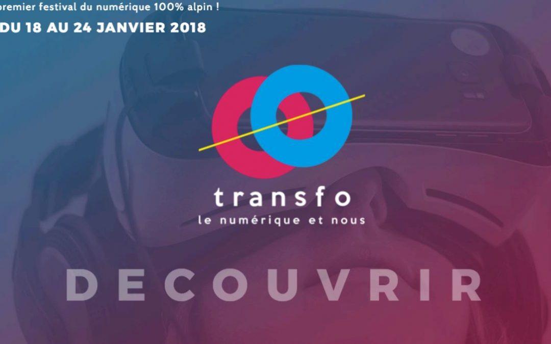Transfo, premier festival du numérique 100% alpin