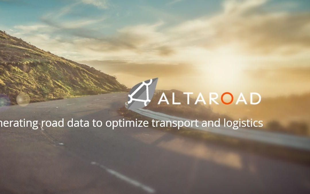 [Promo 2018] Altaroad optimise le transport et la logistique grâce aux datas de la route