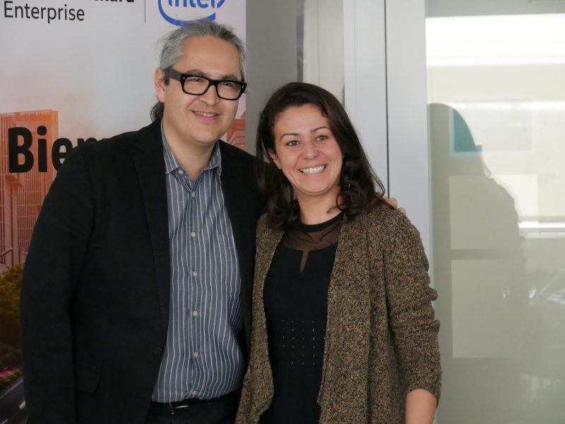Rihab Jerbi et Arnaud Le Hung