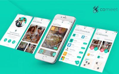 [Promo 2019] Comeet, l'application dédiée au bien-être en entreprise