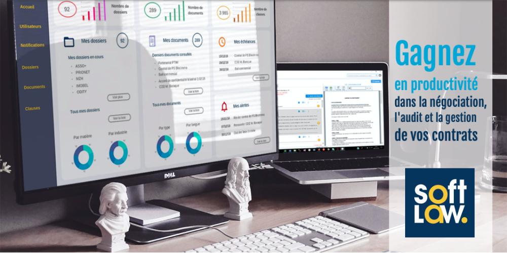[Promo 2019] Softlaw, la startup qui simplifie l'analyse et le traitement de documents juridiques