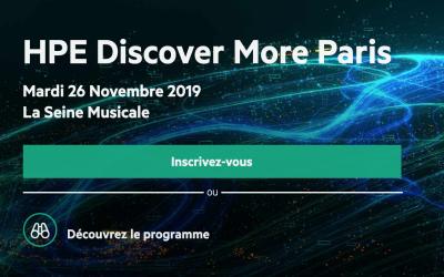 HPE Discover More, l'événement pour accélérer l'avenir