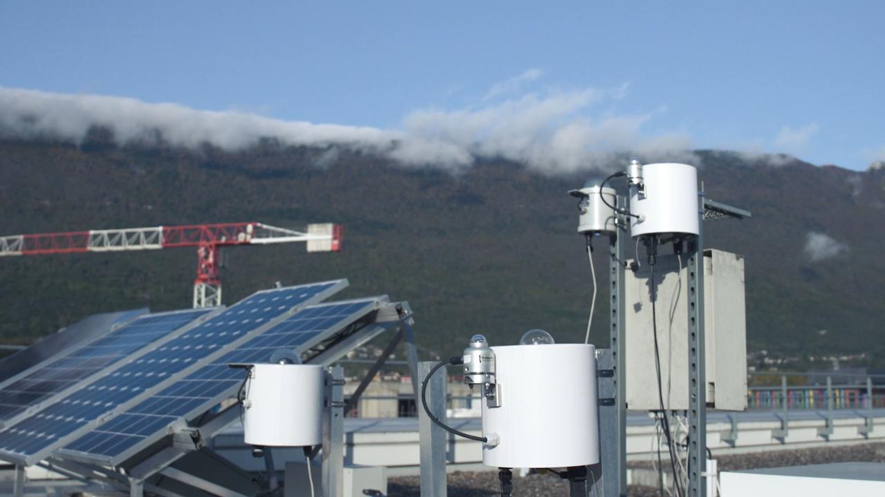 SteadySun caméra prévisions profuction électricité solaire